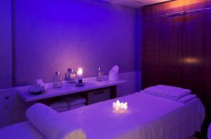 massage lumière violette